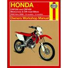 Picture of Haynes Manual 2630 HON CRF250 & CRF450 02-06