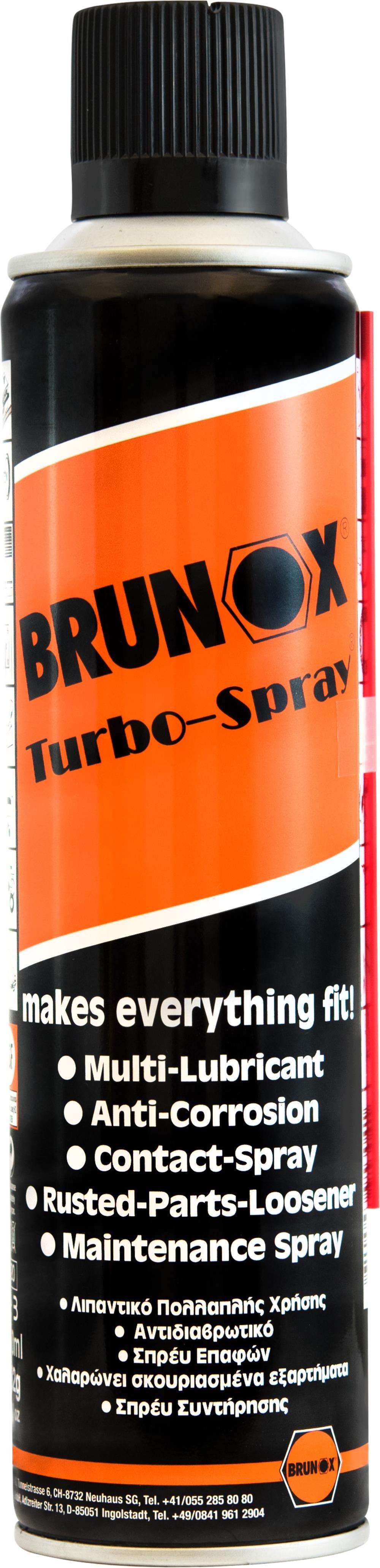 Brunox turbo spray multi function spray 400ml essex motorcycles new used bike sales - New uses for the multifunctional spray ...