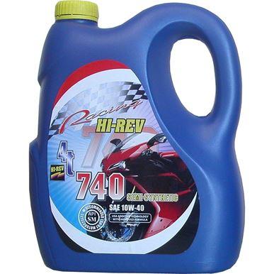 Picture of Hi-Rev 740 Super 4T semi synthetic 10w/40 4 stroke oil