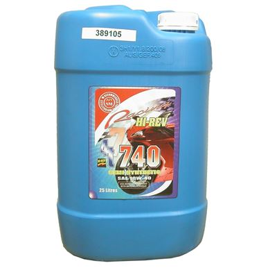 Picture of Hi-Rev Super 4T semi synthetic 10w/40 4 stroke oil