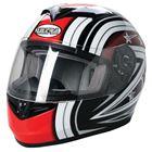 Picture of Road Helmet Ultra Starburst Black/Red Large 59/60