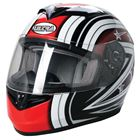 Picture of Road Helmet Ultra Starburst Black/Red Xl 61/62