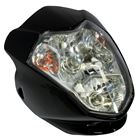 Picture of Aura Headlight Universal Fairing With Inds Black