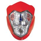 Picture of Aura Headlight Universal Fairing With Inds Red
