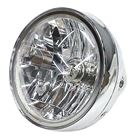 "Picture of 7"""" Uni Headlight Chrome E-Mark Dip-To-Right Hs1 35/35W"""