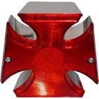 Picture of Taillight Complete Maltese Cross with Stop & Tail Bulb