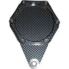 Picture of Tax Disc Holder Hexagon Carbon Look 6 Studs Carbon Look Rim