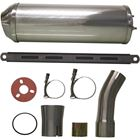 Picture of Exhaust Stainless Round Tailpipe for 4T(50mm push-on)