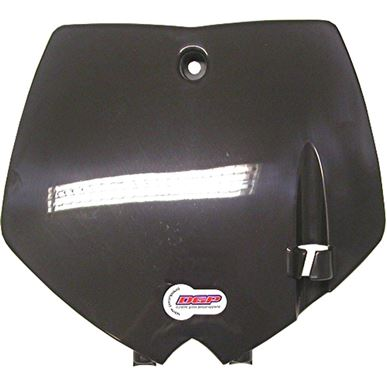 Picture of *Front Number Plate Black KTM 65 02-08