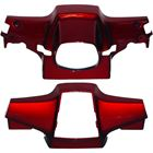 Picture of Handlebar Covers Honda C90 Cub Red Top & Bottom (Pair)