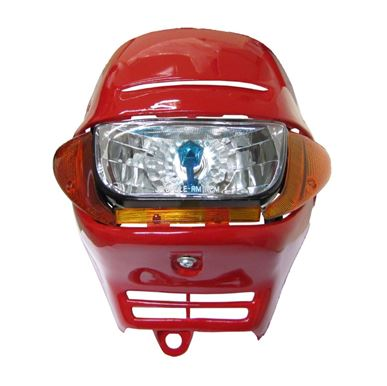 Picture of Headlight & Fairing Red including Indicators