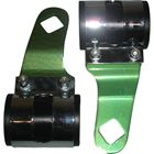 Picture of Headlight Brackets Green Deluxe to fit forks 26mm to 37mm (Pair)