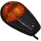 Picture of Complete Indicator Fairing Carbon Copy with Amber Lens (Pair)