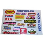 Picture of Stickers Assorted Small DID, UFO, Metzeler, Tsubaki, Kal-Gard (Per 5)