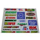Picture of Stickers Assorted Large Wiseco, Coors, RK, Smith, Showa, Michelin (Per 5)