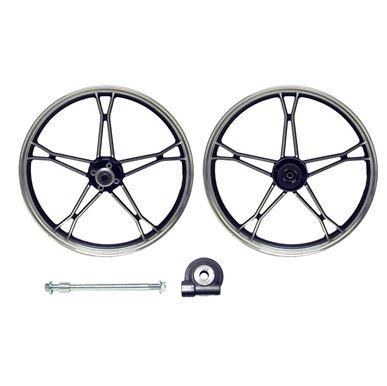 Picture of Front Wheel GN125 disc brake aluminum (Rim 1.60 x 18)