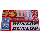 Picture of Stickers Assorted Dunlop, NGK, Dunlop, Champion, Renthal, Bel-Ray