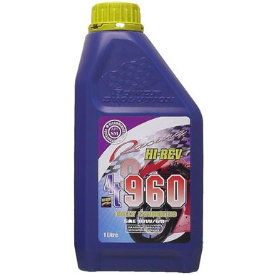 Picture of Hi-Rev Super 4T 100% synthetic 10w/60 4 stroke oil