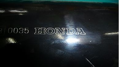 Picture of Honda CBR 900 Exhaust Can