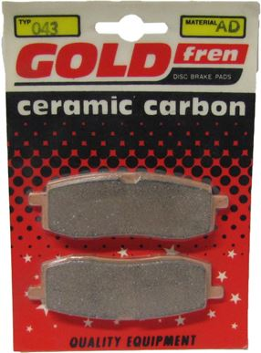 Picture of Goldfren AD043, VD241, FA105, FDB411, SBS580 Disc Pads (Pair)