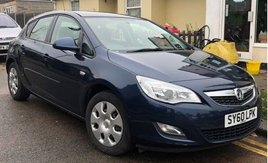Picture of Vauxhall Astra 1.4 16v Exclusiv 5dr